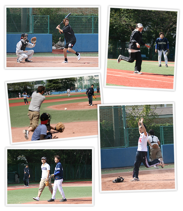 野球の様子